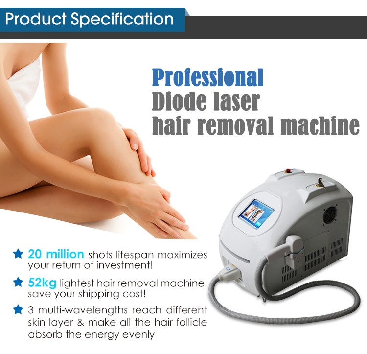 Portable Diode Laser Hair Removal Equipment images